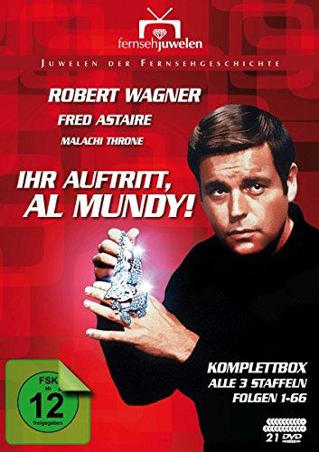 Ihr Auftritt, Al Mundy! - Komplettbox (Alle 3 Staffeln / Folgen 1-66) - Fernsehjuwelen [17 DVDs]