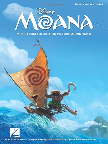Miranda/Fao'i/Mancina Moana Music from the Soundtrack PVG Book