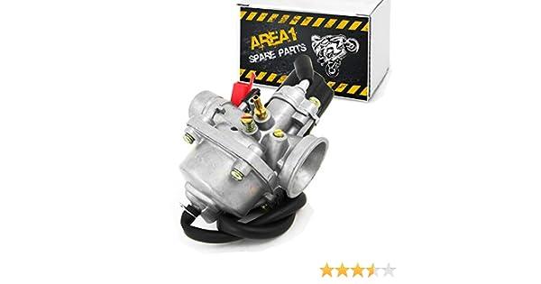 Speedfight 4 Carburateur de rechange 12 mm Peugeot Speedfight 3 2 temps