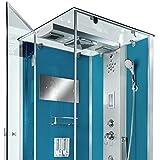 AcquaVapore DTP6038-2102L Dusche Dampfdusche Duschtempel Duschkabine 100x100, EasyClean Versiegelung der Scheiben:2K Scheiben Versiegelung +99.-EUR - 8