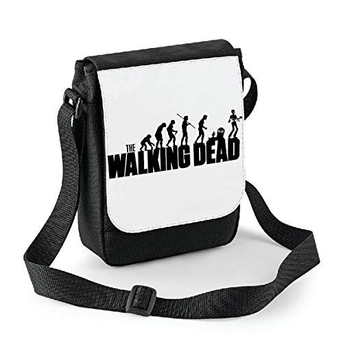 Mini borsa a tracolla The Walking Dead Evolution - humor Bianco