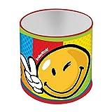 GUIZMAX Pot a Crayon en Metal Smiley Disney Enfant Emoji