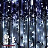LED Lichterkette, von myCozyLite®, 200 LED Lichterketten in 20 Metern, Kaltweiß, Wasserdicht für Innen und Außen
