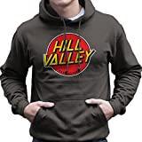 Cloud City 7 Hill Valley Hoverboards Back To The Future Men's Hooded Sweatshirt