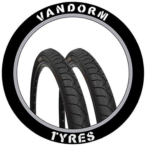 Vandorm MTB Slick Reifen 66x 5cm City Slick Mountain Bike Slick Paar Reifen