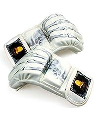 guantes de boxeo adulto/Guantes de boxeo profesional medio/ Guantes de lucha Muay Thai/ guantes de entrenamiento saco de boxeo de combate/ guantes de los niños-A