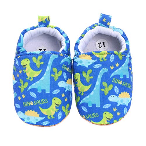 koshine Cartoon Cotton Baby Soft Shoes Prewalker Toddler Slipper 0-18 Months