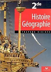 Histoire-géographie - Seconde, 2000, TD