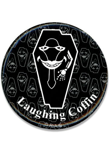 Great Eastern Entertainment Sword Art Online Laughing Coffin Button, 1.25