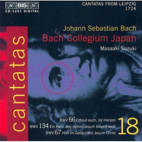 Halt im Gedachtnis Jesum Christ, BWV 67: Aria: Freide sei mit euch! (Bass, Chorus)