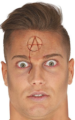 Kostüme Kits (Damen Herren Halloween Blutige Zombie Spezialeffekte Latex Make-up Kostüm Kleid Outfit Kit - Fünfzack, One)