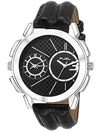 Laurels Black Color Analog Men's Watch With Strap: LWM-HLK-020207