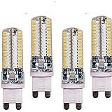 SDYJQ 10W G9 LED luces Bi-pin T 96 SMD 3014 700 lm / blanco cálido, blanco frío 220-240 V CA Decorativas 4 pcs , blanco cálido.