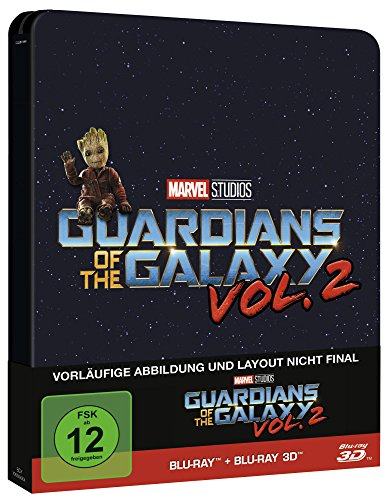 Preisvergleich Produktbild Guardians of the Galaxy Vol. 2 - 2D & 3D Steelbook Edition [3D Blu-ray] [Limited Edition]