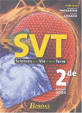 Sciences de la vie et de la terre, 2de