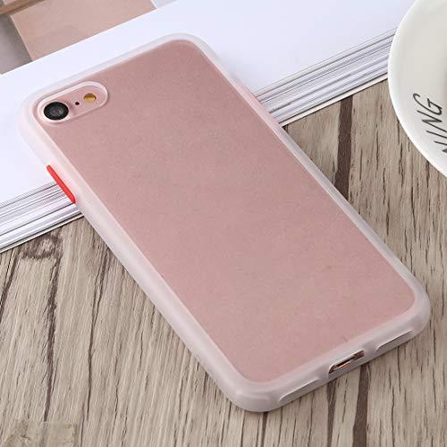 TONGTAIRUI-Cellphone Covers Schöne Fälle & Abdeckungen Gingle Series II Stoßfestes TPU + PC-Gehäuse für iPhone 8 und 7 Für iPhone (Farbe : Weiß)