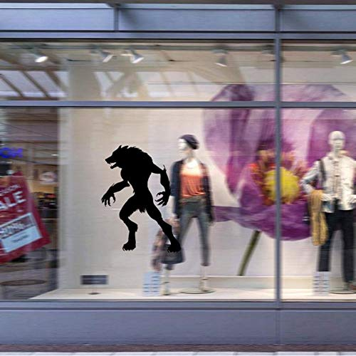 nyl Abnehmbare 3D Wandaufkleber Halloween Werwolf Dekor Decals Für Wandtattoo Wandaufkleber Home Deco Mirro ()