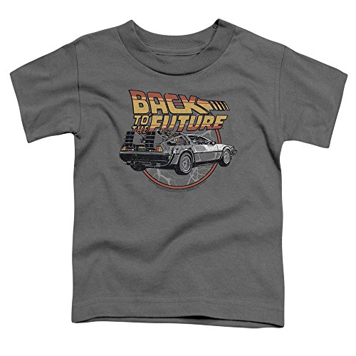 Back to the Future - Toddlers Time Machine t-shirt, 2T, antracite