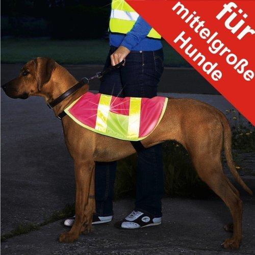 Hunde Sicherheitsweste Warnweste Signalweste Reflektor