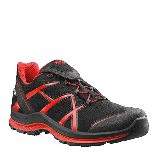 Haix Black Eagle Adventure 2.0 Low Gore-Tex Schwarz-Rot