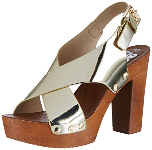 Refresh Damen 63558 Heel Sandalen Gold (Oro)
