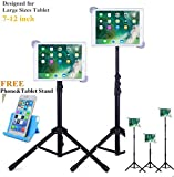 Portable Universal Tripod Stand Adjustable Height 21 to 65 Inch Mount Holder