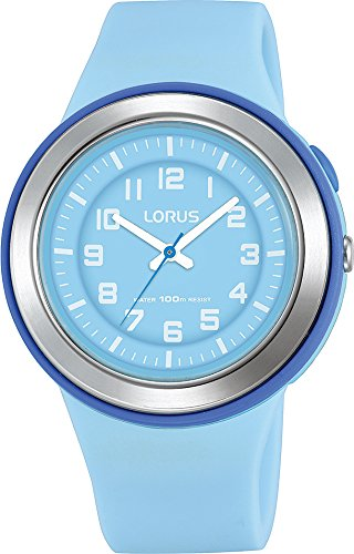 Lorus Unisex Analogue Quartz Watch with Silicone Strap R2315MX9