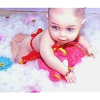 Love Home 46Cm Realista Muñeca Bebé Flexible Extremidades Y Cabeza Artesanal Silicona Sólida Muñecas Bebé con Ropa, Niños