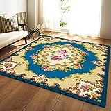 YSX-carpet Area Tappeto, Tappeto Camera da Letto Lavabile, tappezzeria Super Soft Tappeto Quadrato Soggiorno, Tappetino Yoga Tappeto Antiscivolo per Bambini,M5,5.2ftx3.9ft