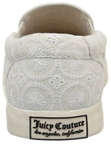 Juicy Couture Nicole - Scarpe da tennis donna Bianco (Blanc Eyelet Fabric)