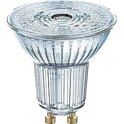 LED GU10 OSRAM LED STAR PAR16 80 36° 6.9 W/2700 K GU10 4058075112605 EEC A+ (A++ - E) réflecteur 6.90 W = 80 W blanc cha