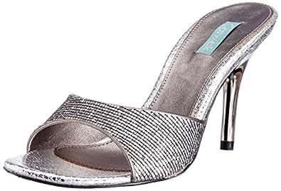 Catwalk Women's Grey Slippers - 8 UK (8816GM)