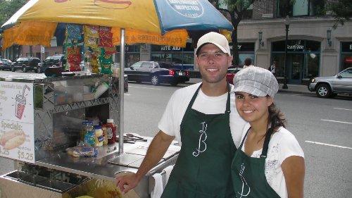 plantilla de plan de negocios para un vendedor ambulante de carrito de hotdog en español!