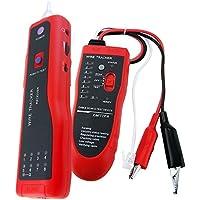 Teléfono trazador de red LAN RJ45 y BNC Rastreador