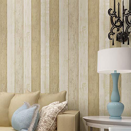 Kostüm Vinyl Kitty - Vertikale Streifentapete des blauen und weißen gestreiften Tapetenschlafzimmer-Wohnzimmers