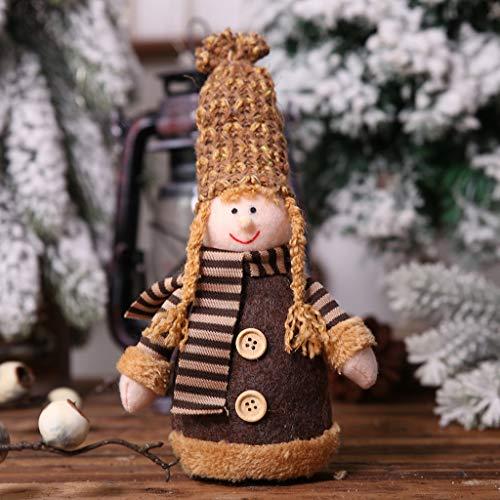 Mädchen Kostüm Frauen Erwachsene Für Cupcake - Mitlfuny Festival dekor,Christmas,Halloween,Weihnachtsdekoration,Halloween deko,Halloween kostüm,Frohe Weihnachten Strickmütze Puppe Junge Mädchen Anhänger Schmuck Weihnachten Holiday Party