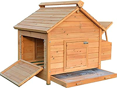 FeelGoodUK Coop House Chicken Coop, Large by FeelGoodUK