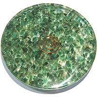 Exklusiver 76 g grüner Aventurin-Quarz-Organituntersetzer mit Kristall-Heilung, Feng, Shui, Reiki, Geschenk, Wellness... preisvergleich bei billige-tabletten.eu