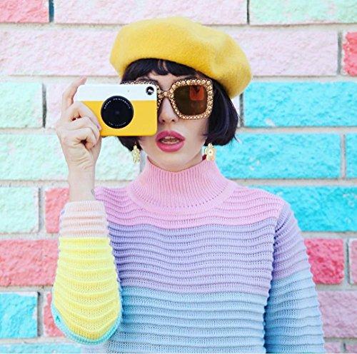 """Kodak Printomatic fotocamera di stampa istantanea, stampa su ZINK 2x3 """"carta appiccicosa - giallo"""