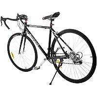 Moracle Bicicleta Profesional de Carretera 21 inch/54 cm Bicicleta de Carretera Luz de Aleación de Aluminio/Acero al Carbono Aluminio Commuter Bike Shimano de 21 Velocidades 700 C Racing Bicicleta