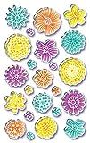 AVERY Zweckform 54385 Deko Sticker Blüten (3D Effekt) 23 Aufkleber