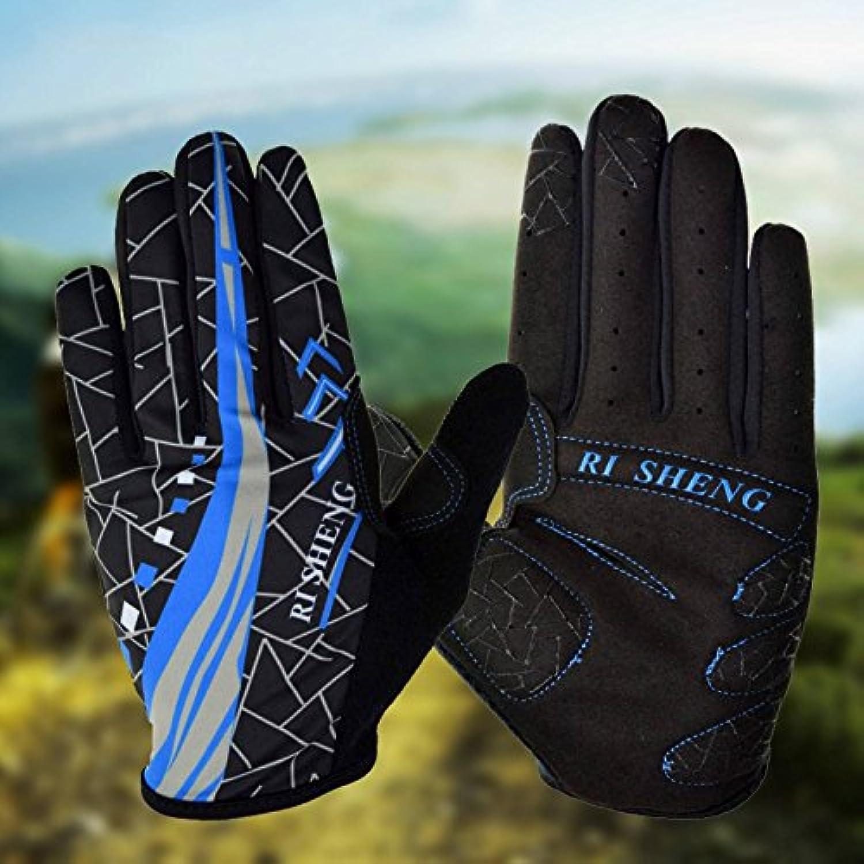 PhilMat Al aire libre de la bicicleta de la bici guantes de montar guantes deportes dedos completos guantes