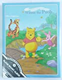 #9: HMI Disney Winnie the Pooh Self Stick Black Mount Photo Album, Japanese Made, A4+ Size with 20 Sheets, Blue