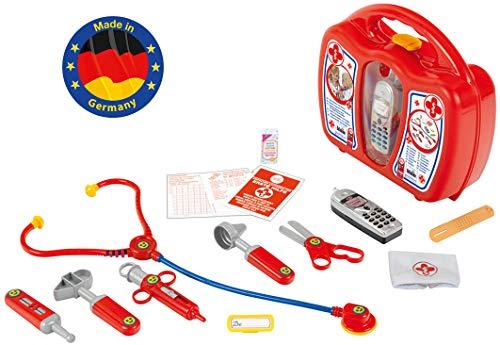 Baby Kostüm Boy Ein Altes Jahr - Theo Klein 4350 - Arztkoffer mit Handy, Spielzeug
