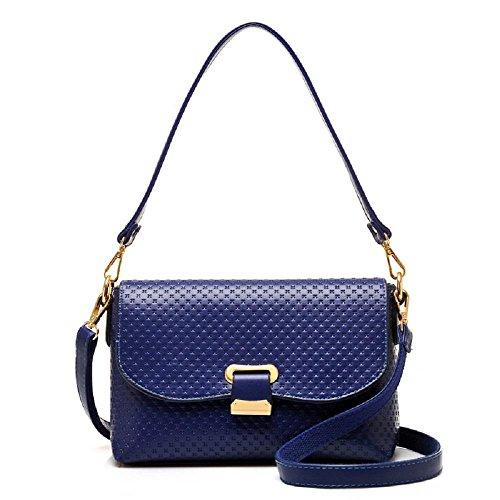 CELO Nuove signore europee ed americane borsa Messenger Bag borsa a tracolla elegante piazzetta della moda di alta qualità , black blue