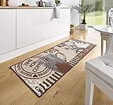 Hanse Home 102372 Teppichläufer, Polyamid, braun, 67 x 180 x 0.8 cm - 4