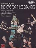 Sergei Prokofiev - L'Amour des Trois Oranges (Festival d'Aix-en-Provence) [(versione russa) (+booklet)]