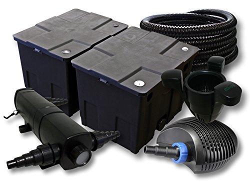 Sunsun filtro set per 60000l stagno con 18 w laghetti e 40 for Filtro per stagno