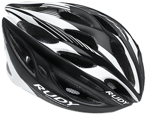 Rudy Project Zumax Casco, Black/White Shiny, S/M