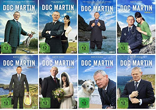 Doc Martin - Staffel 1-8 (1+2+3+4+5+6+7+8) im Set - Deutsche Originalware [17 DVDs]